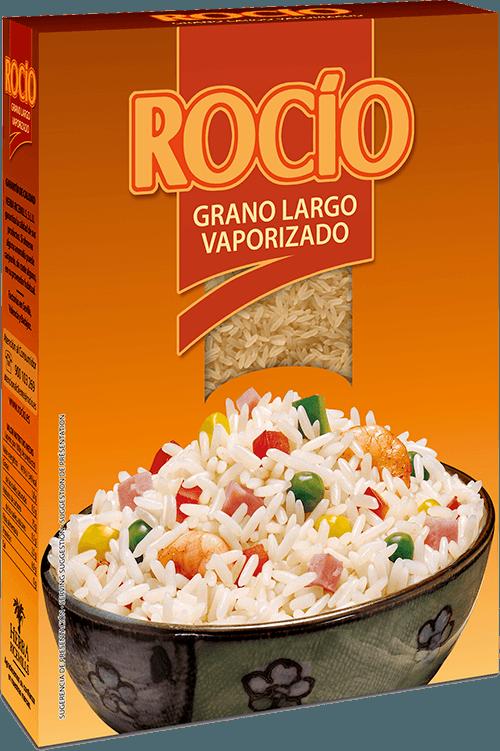 Rocío arroz grano largo vaporizado