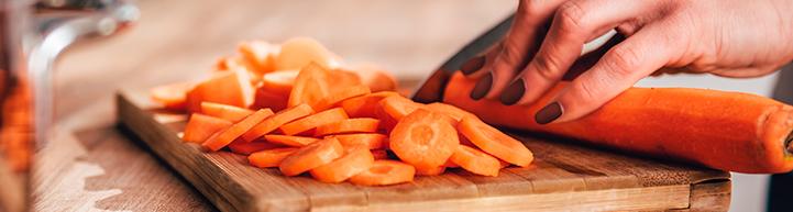picando zanahoria